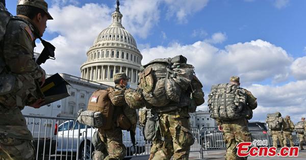 Washington D.C. on high alert as Biden's inauguration nears