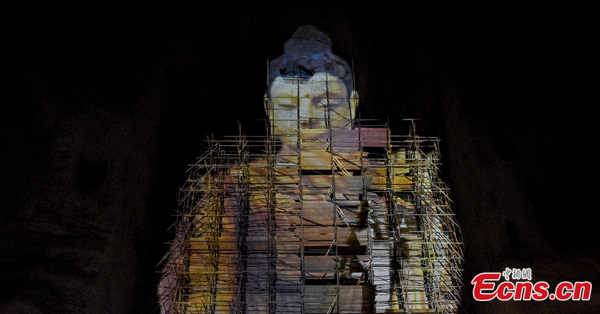 3D return for Bamiyan Buddha in Afghanistan destroyed 20 years ago