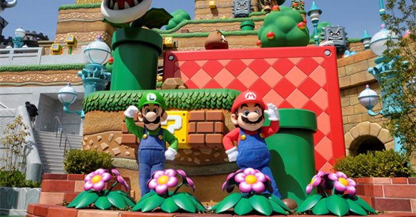 'Super Mario' comes to life at Super Nintendo World