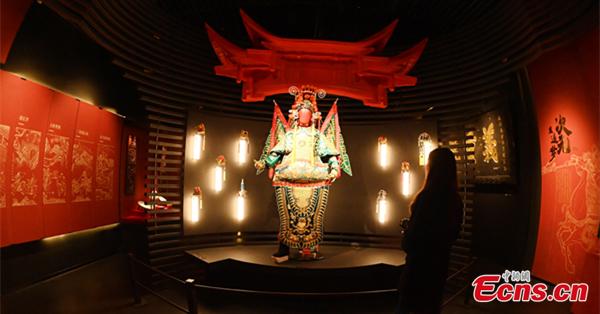 The 'Three Kingdoms' exhibition held in Chengdu