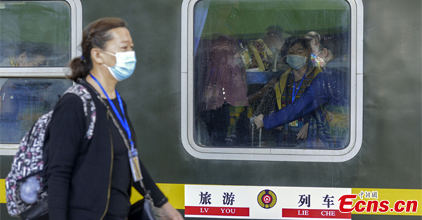 Xinjiang launches its first tourist train in 2021