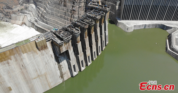China's new mega hydropower station ready for operation