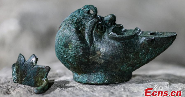 Israel discovers 1,900-year-old half-faced oil lamp meant for luck