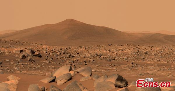 NASA's Perseverance sends back captured image of 'Santa Cruz'