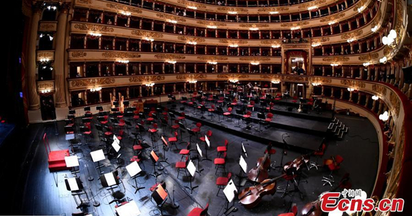 Italy's La Scala reopens to public after 7-month pandemic-led closure