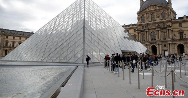 Louvre Museum reopens after six months closure
