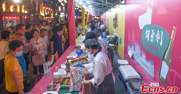 Central and Eastern European food wows visitors in Zhejiang