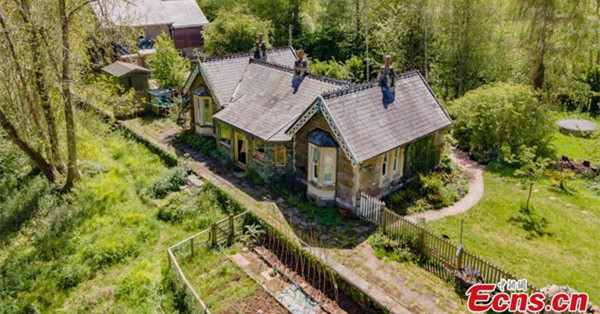 Abandoned train station converted to bungalow after 136 years