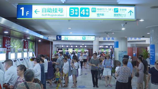 Tech firms in Hangzhou have worked closely with public services.  (Photo/CGTN)
