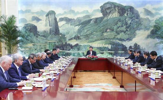 Xi calls for enhanced SCO security cooperation