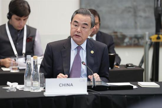 Chinese FM champions multilateralism, global development at G20 ministers' meeting