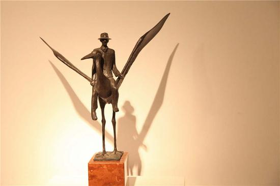 Hungarian art show in Beijing marks East-West dialogue