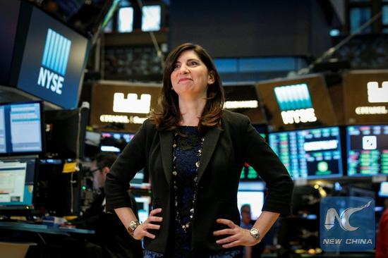 New York Stock Exchange names first ever female president
