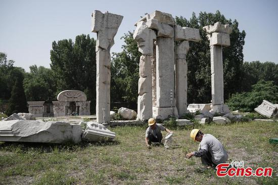 Old Summer Palace starts 120-day preservation project