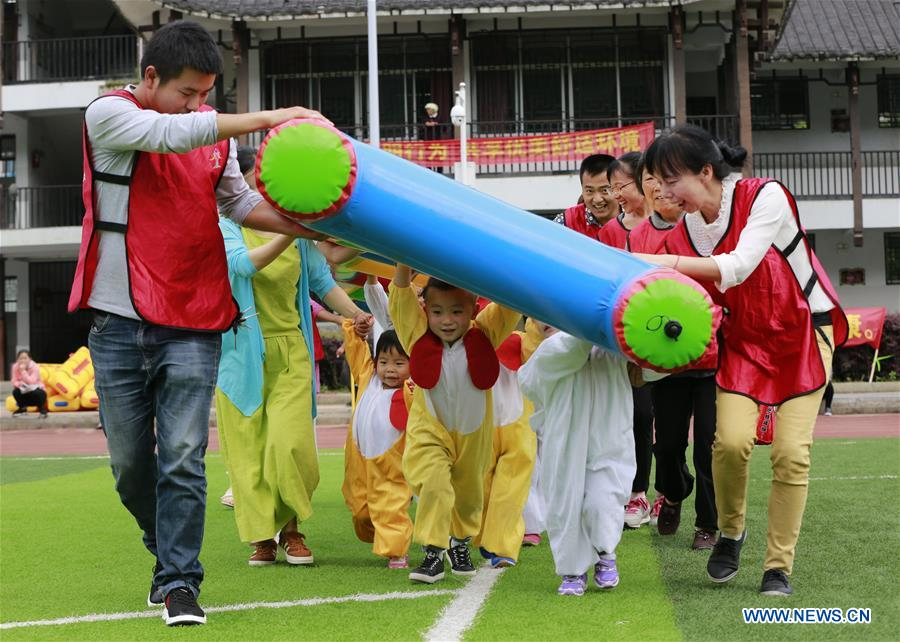 Activity held to greet Int'l Children's Day in Hunan