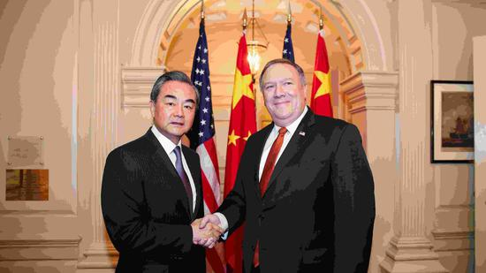 Chinese FM says U.S. disinvitation of China in Pacific Rim military drill unconstructive