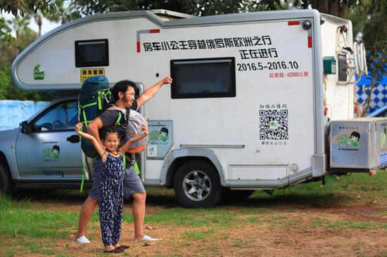 Couple tours 34 countries with 7-year-old in motorhome