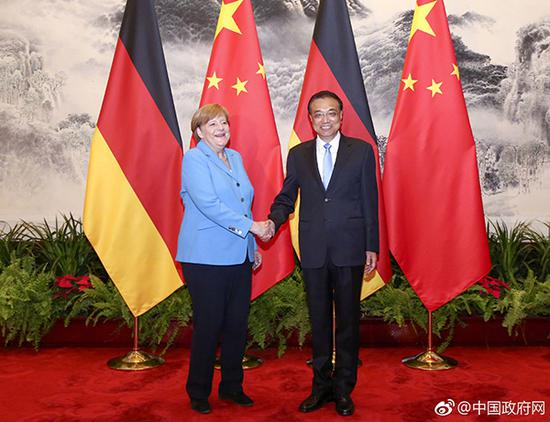 China, Germany champion free trade: MOC spokesman