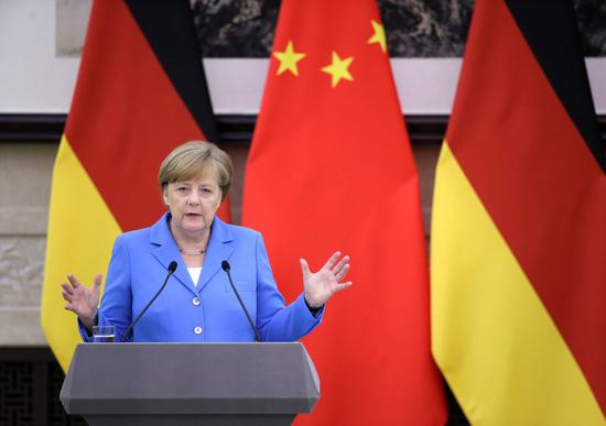 Merkel: EU should enjoy U.S. tariff exemption in steel and aluminum