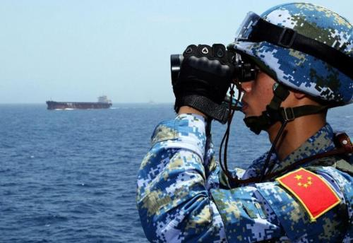 China calls for end to sensationalization of South China Sea's 'militarization'