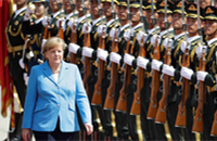 Angela Merkel in China: Four issues to watch