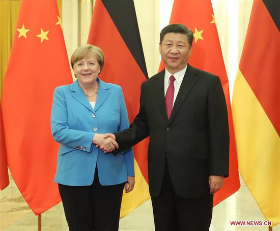Cooperation is the theme: Angela Merkel's 11th visit to China