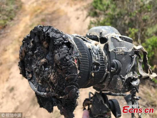 NASA camera destroyed during SpaceX launch
