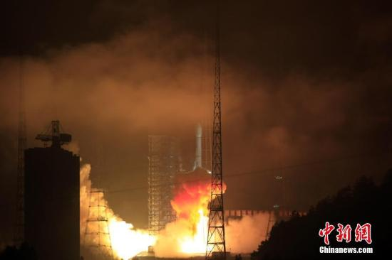 China launches the communication satellite
