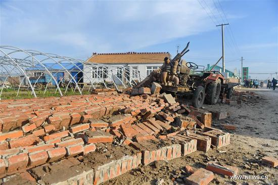 No casualties reported after 5.7-magnitude earthquake hits Jilin