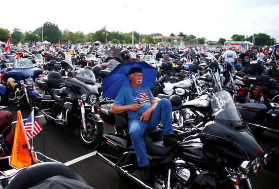 Rolling Thunder motorcycle in Washington