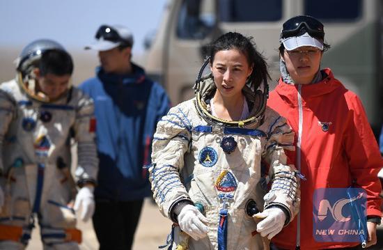 A woman in no man's land: Wang Yaping's terrestrial taikonaut training