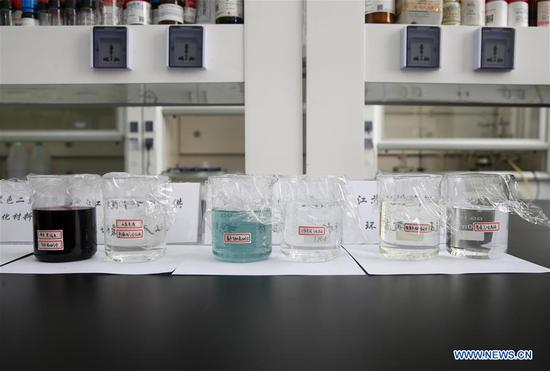 Chinese researchers use new material to clean water