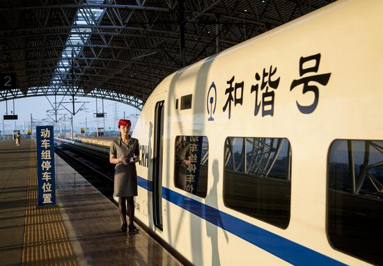 High-speed rail links Jiangmen and Zhanjiang in Guangdong