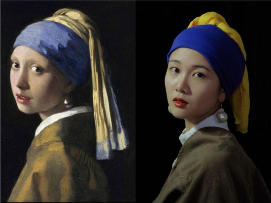 Yunnan students imitate geisha and famous paintings