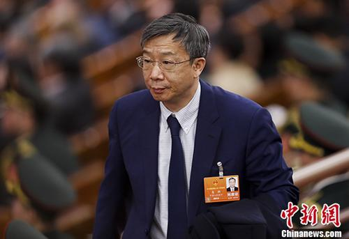 People's Bank of China (PBOC) Governor Yi Gang. (File photo/China News Service)