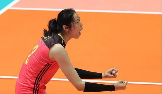 Zhu Ting's game-high 16 points lifts China over Argentina 3-0 in FIVB volleyball Nations League