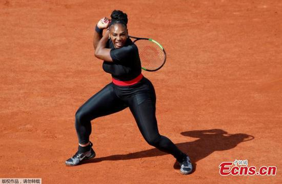 Serena Williams returns to Grand Slam court