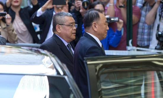 Top DPRK official arrives in U.S. for talks with Pompeo