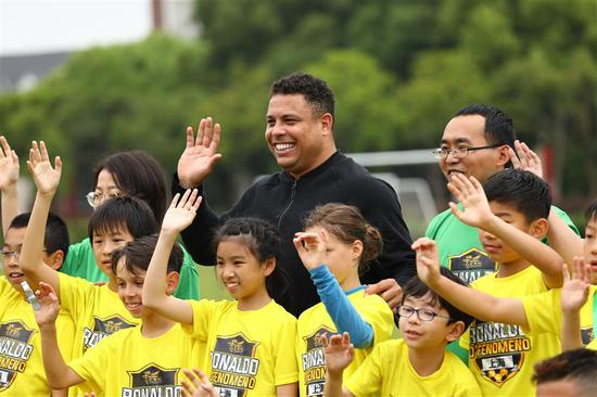 Brazilian legend tips China to compete with football elite