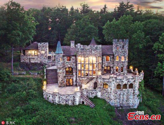 Father builds castle as promise to son in 1978