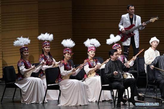 SCO art festival opens in Beijing