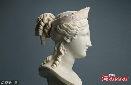 Canova's Bust of Peace to fetch $1.32 million