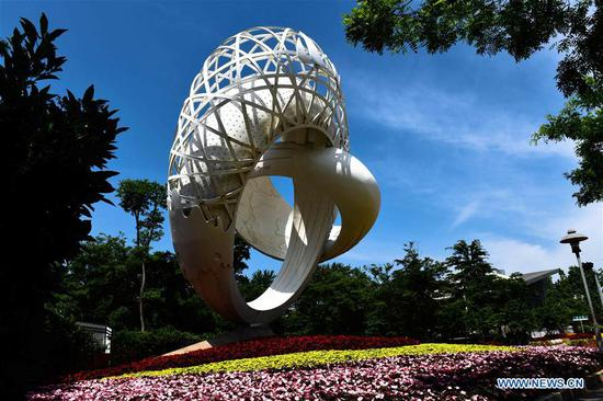Scenery of SCO summit host city Qingdao