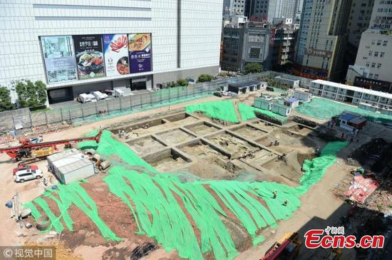 Ancient city ruins found in Chengdu