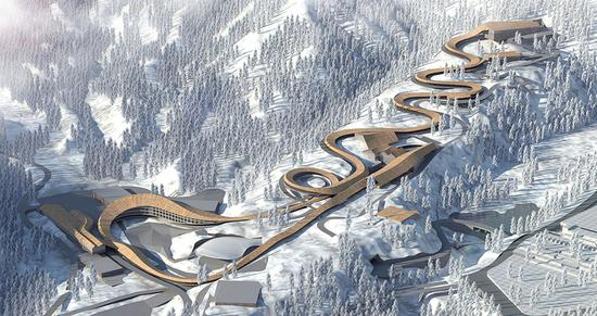 Plans unveiled for building all 2022 Olympic venues