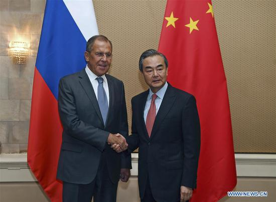 Russian president's upcoming visit is of great significance: China's top diplomat