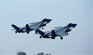 China's fighter jets perform 'perfect combination' training