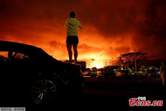 Kilauea Volcano continues eruption
