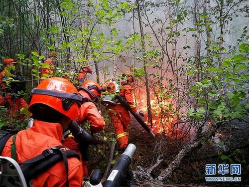 Forest fire battle continues in Inner Mongolia