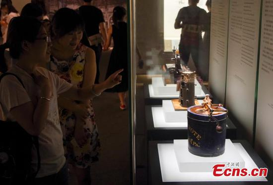 Hagley makes history at the National Museum of China